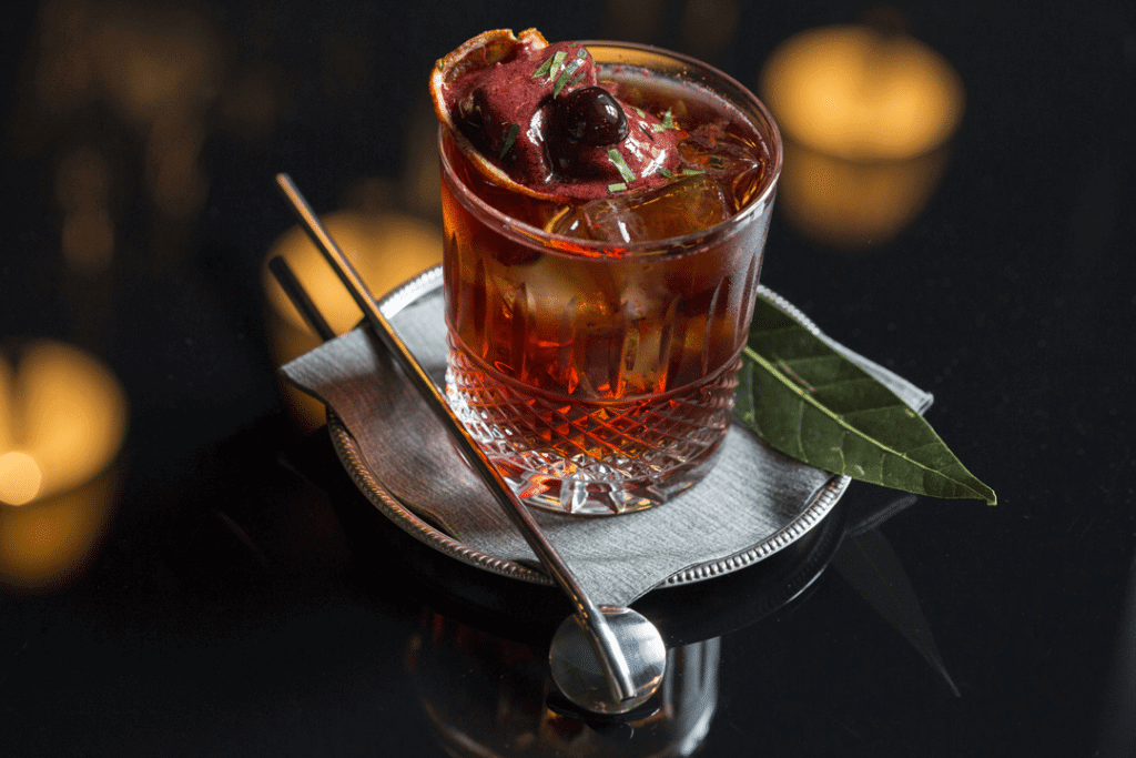 Picture of a Dessert Negroni
