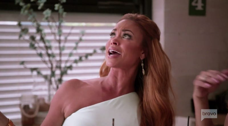 Gizelle Bryant and Monique Samuels clash on The Real Housewives of Potomac