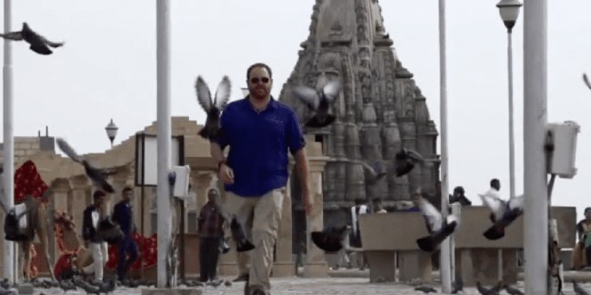 Josh Gates searches for Dwarka on Expedition Unknown