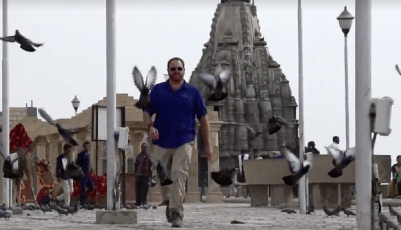 Josh Gates searches for India's Atlantis as he looks for Dwarka on Expedition Unknown