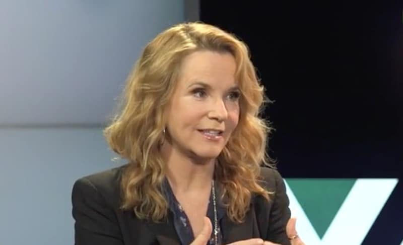 Lea Thompson talking on The A.V. Club Hosted By John Teti