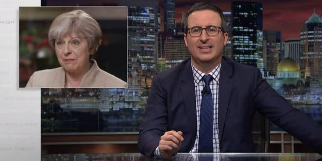 Crumpet-f*** of epic proportions: Hard or soft Brexit on Last Week Tonight with John Oliver