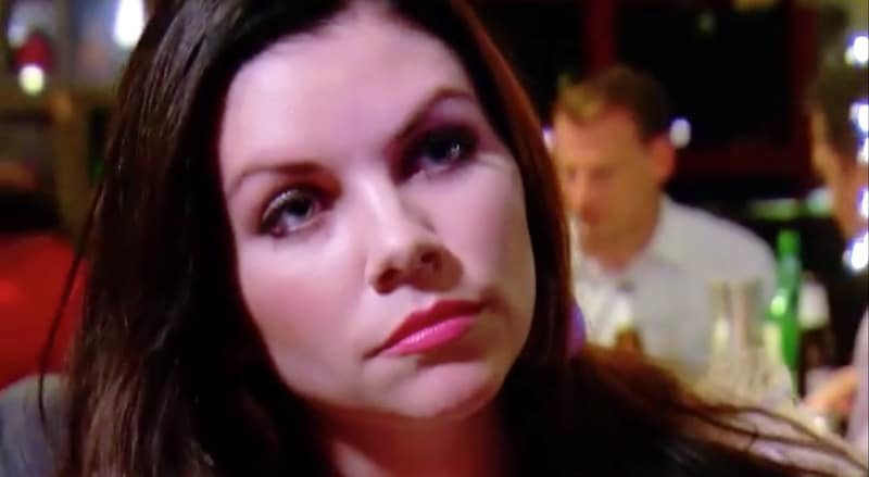 Maya talking to David on Married at First Sight: Second Chances