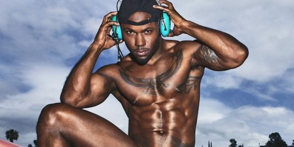 Milan Christopher posing nude in a photoshoot for Paper magazine