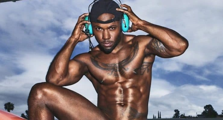 Love & Hip Hop star Milan Christopher poses totally naked to support gender equality