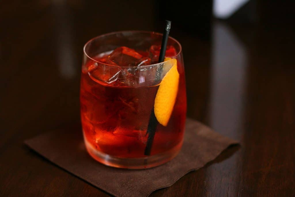 Picture of a Classic Negroni