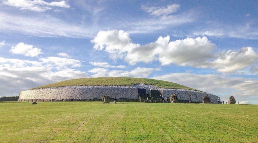 Newgrange in Ireland features on Ancient Aliens
