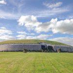 Newgrange in Ireland features on Ancient Aliens