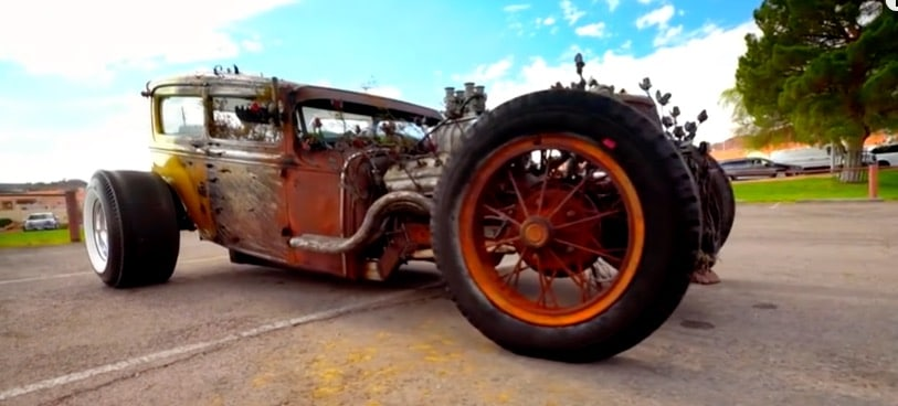 There's a lot of love in this car on Vegas Rat Rods