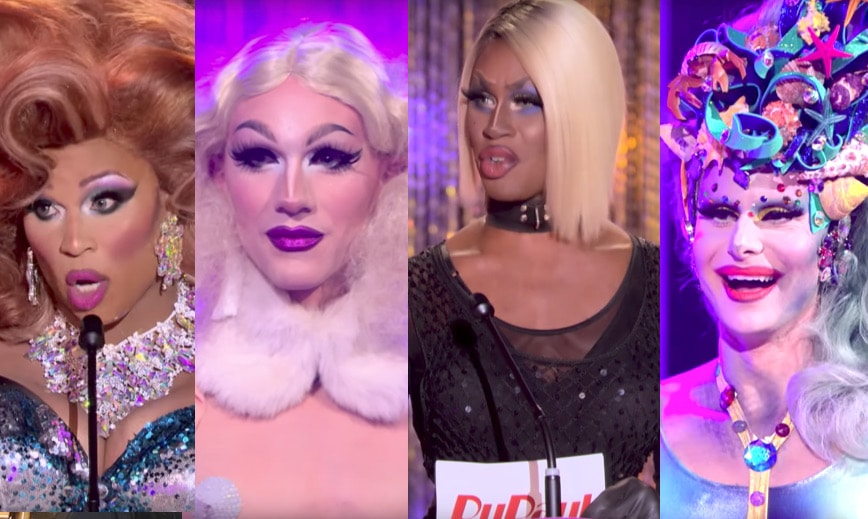 The final four queens in RuPaul's Drag Race