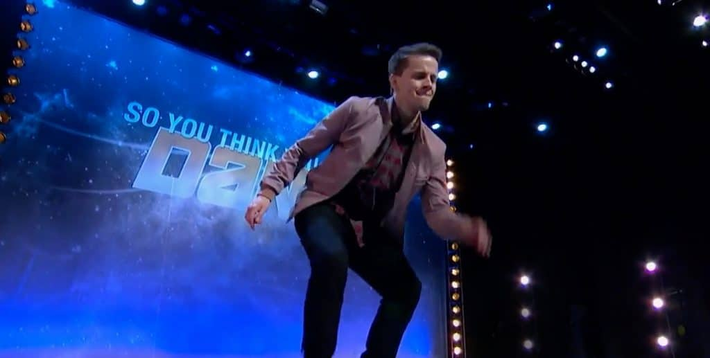 Chaz Wolcott on So You Think You Can Dance