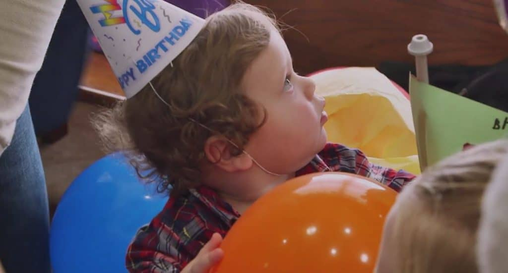 Spurgeon turns one! Watch as he celebrates on TLC's Counting On