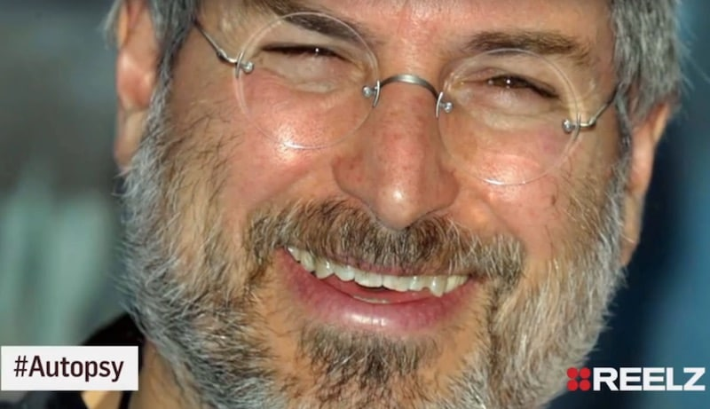 Headshots of Steve Jobs in footage from Autopsy: The Last Hours Of...