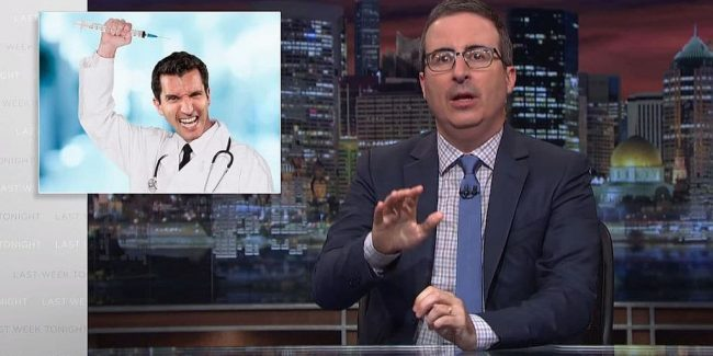 Last Week Tonight: John Oliver blasts Trump for boosting anti-vaccine movement