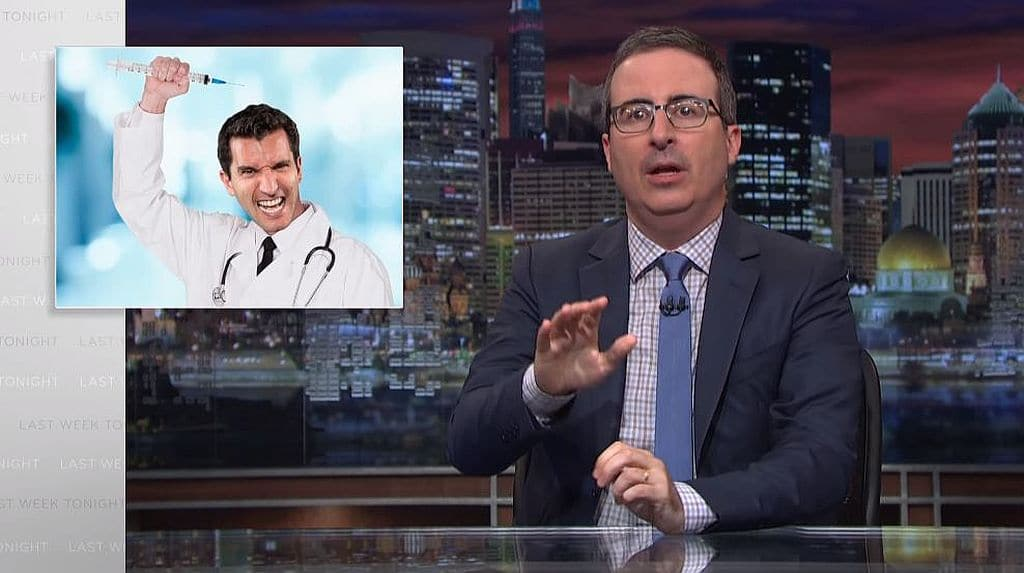 Last Week Tonight: John Oliver blasts Trump for boosting anti-vaccine movement