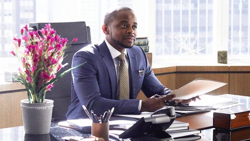 Dulé Hill as Alex Williams on Season 7 of Suits