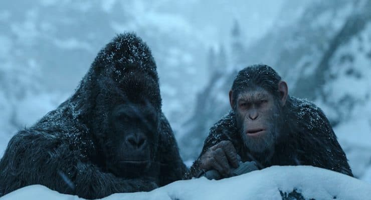 War for the Planet of the Apes exclusive: Michael Adamthwaite on his role as Caesar's lieutenant, gorilla Luca