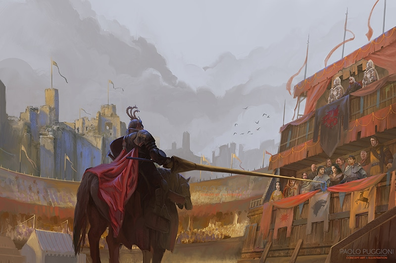 Game of Thrones: Rhaegar and Lyanna