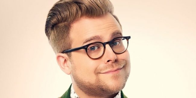 Adam Conover in a promotional picture for Adam Ruins Everything