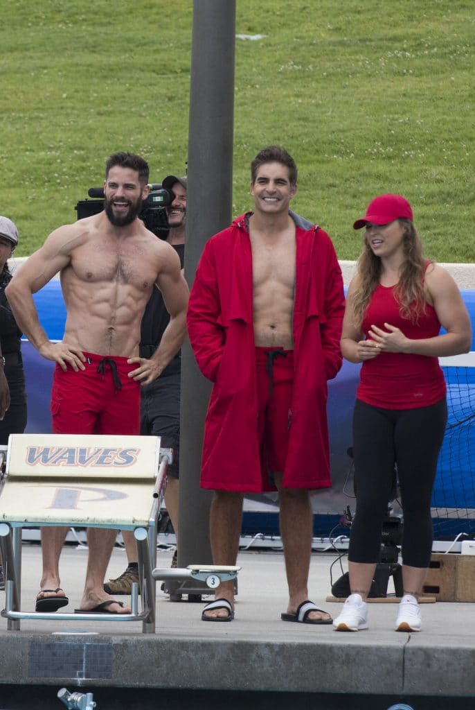 Brant Daugherty, Galen Gering and Ronda Rousey (ABC/Kelsey McNeal)