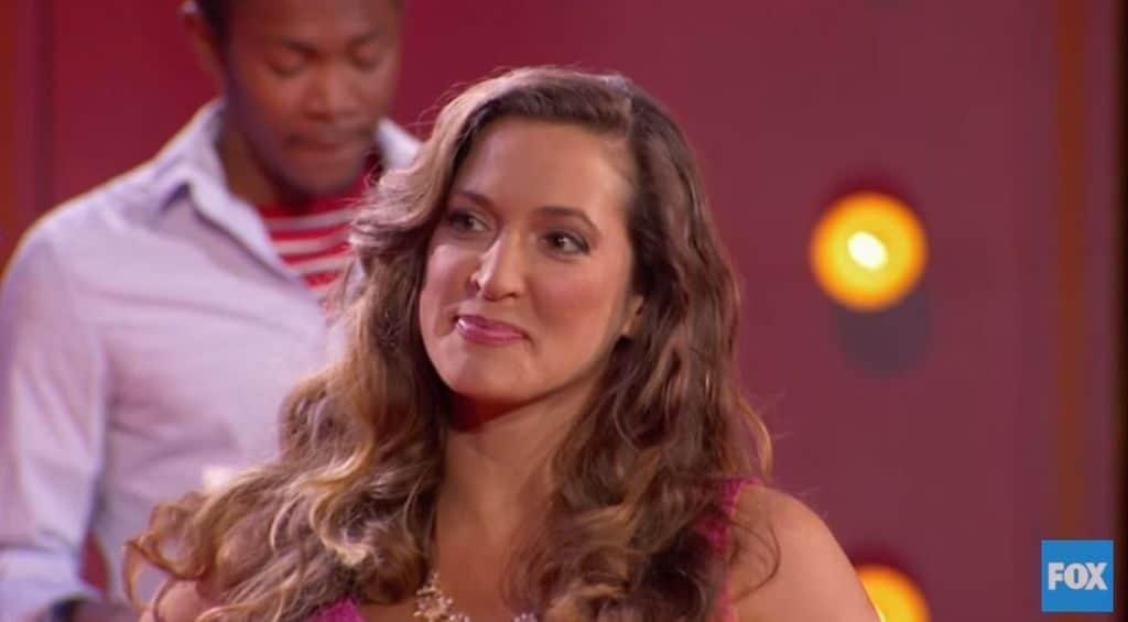 Contestant Amber on FOX's SuperHuman
