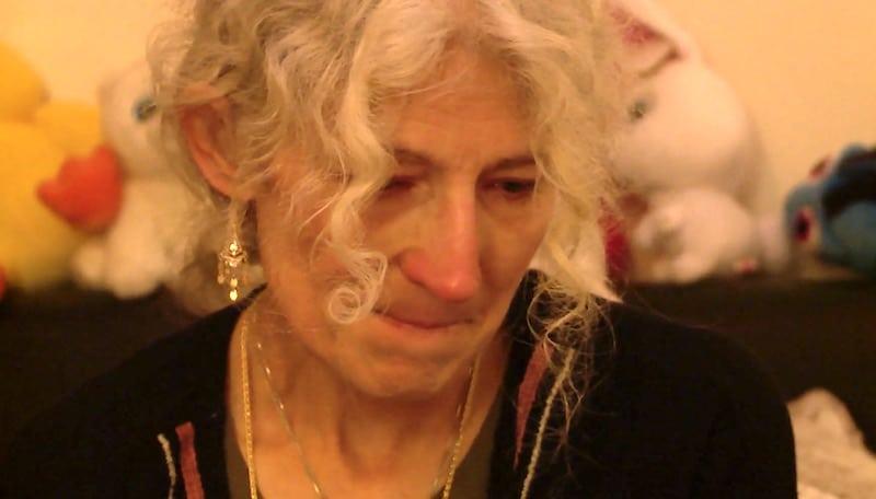 Still of Ami Brown in bed on Alaskan Bush People