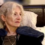 Ami Brown lying in bed on Alaskan Bush People