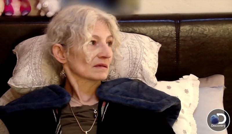 Ami Brown lying in bed on Alaskan Bush People