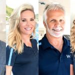 Below Deck stars Matt Burns, Kate Chastain, Capt. Lee Rosbach and Brianna Adekeye