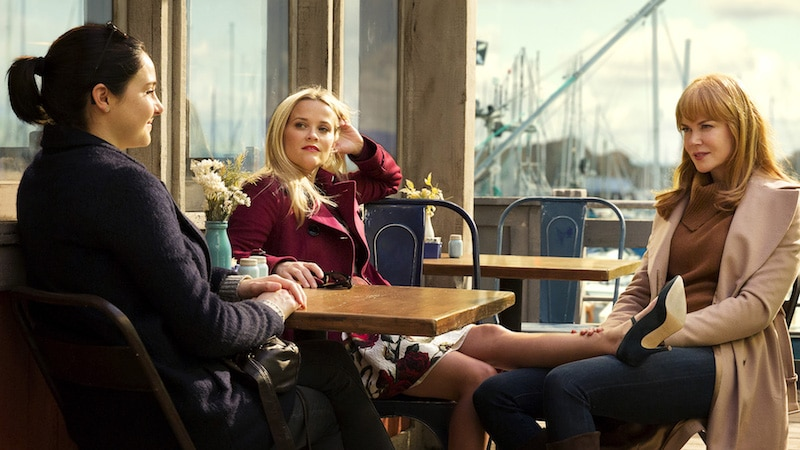 Reese Witherspoon and Nicole Kidman in Big Little Lies