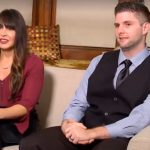 Cody and Danielle on a sofa on the Married at First Sight finale