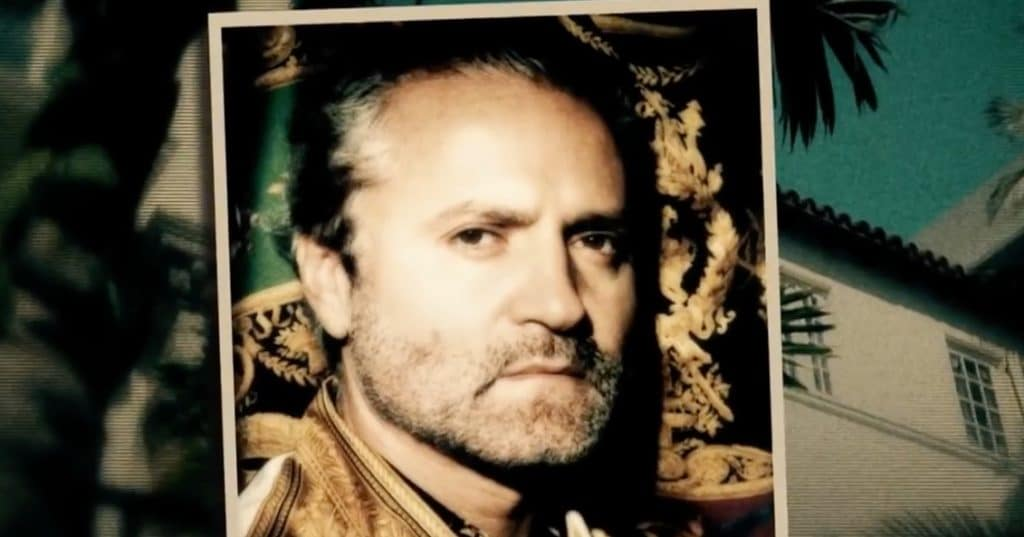 Gianni Versace by Andrew Cunanan