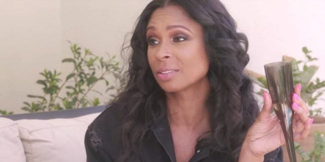 Jennifer Williams talking to Tami Roman on Basketball Wives