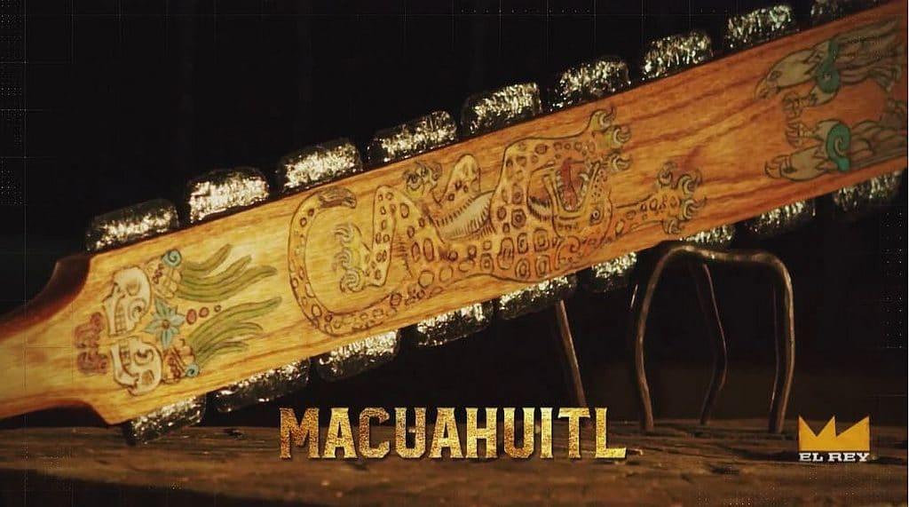 El Rey exclusive clips: Trejo's Aztec weapons on Man at ...