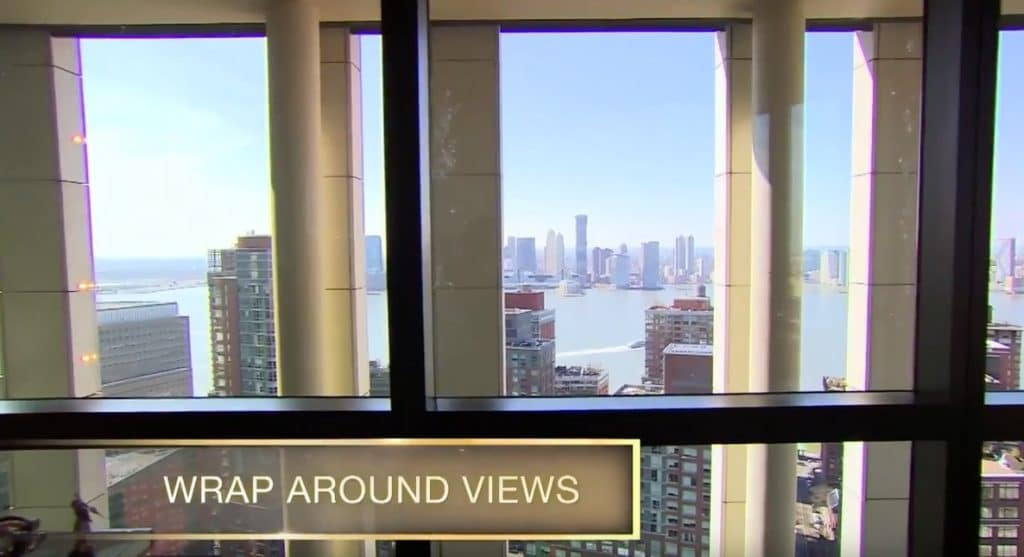 Views out the windows of this huge apartment
