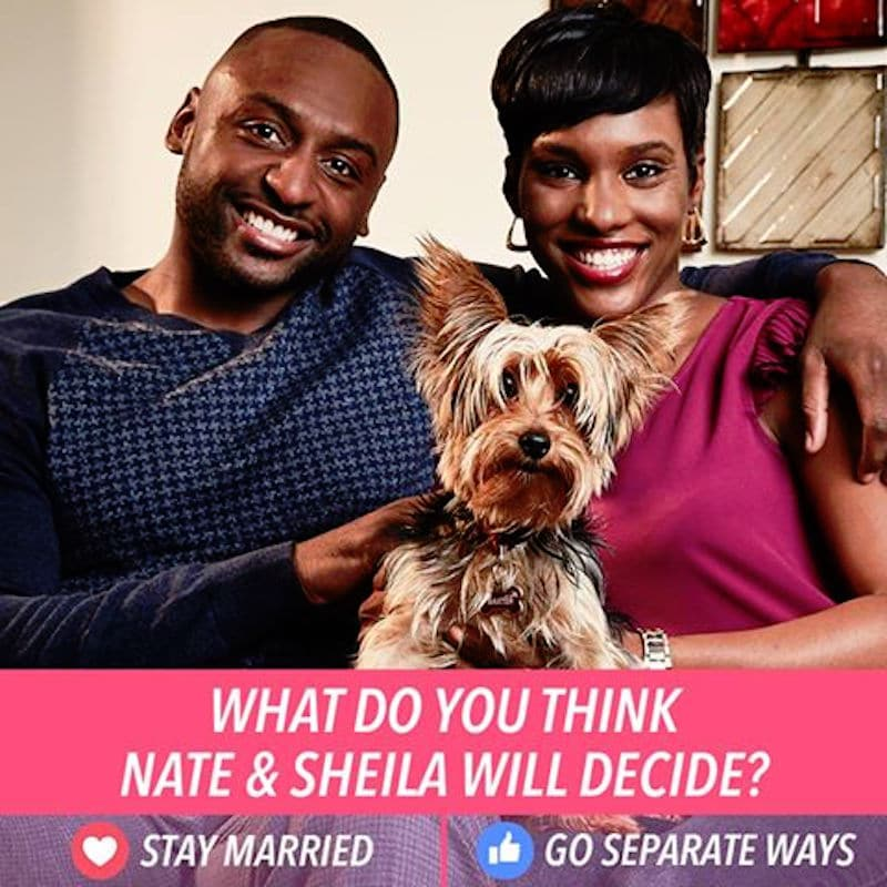 Nate and Shaila Married at First Sight poll question