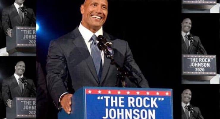 Is Dwayne 'The Rock' Johnson really going to run for president in 2020?