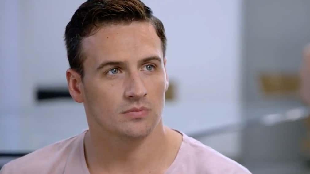 Ryan Lochte closeup