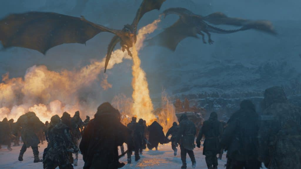 Here comes the fire-breathing dragons to save the day