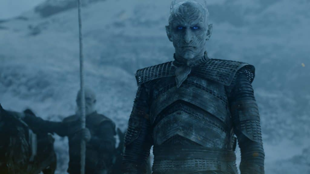 The Night King takes stock, then aim at one dragon