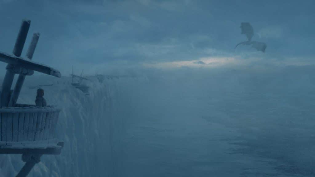Dany awaits for word of Snow at The Wall