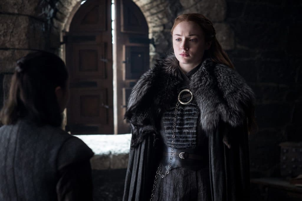 Sansa is being manipulated by Littlefinger still, as she learns who her sister is
