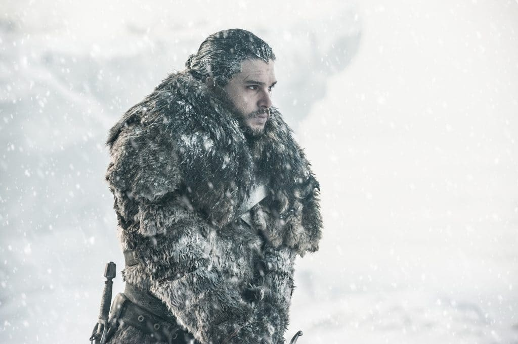 Jon Snow in Beyond the Wall