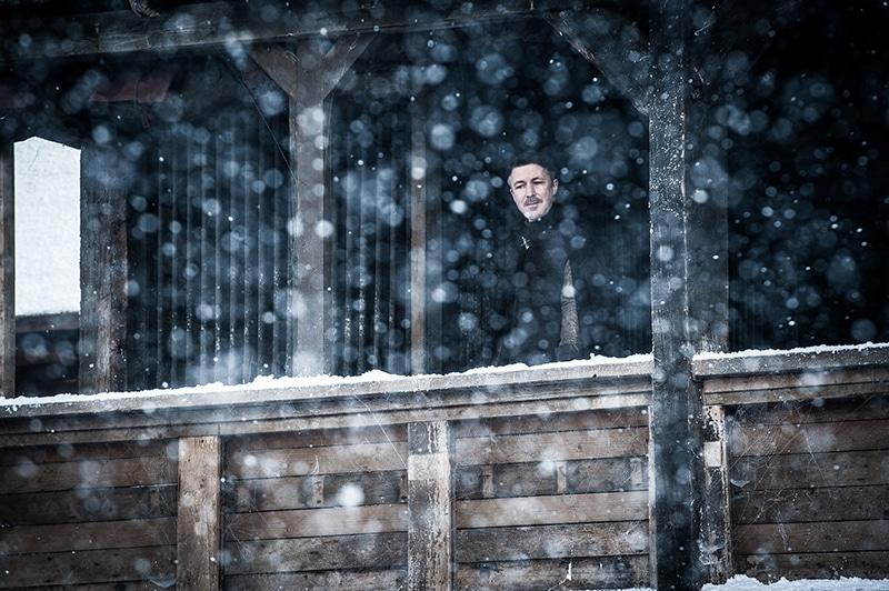 Aidan Gillen as Petyr Baelish on Game of Thrones.