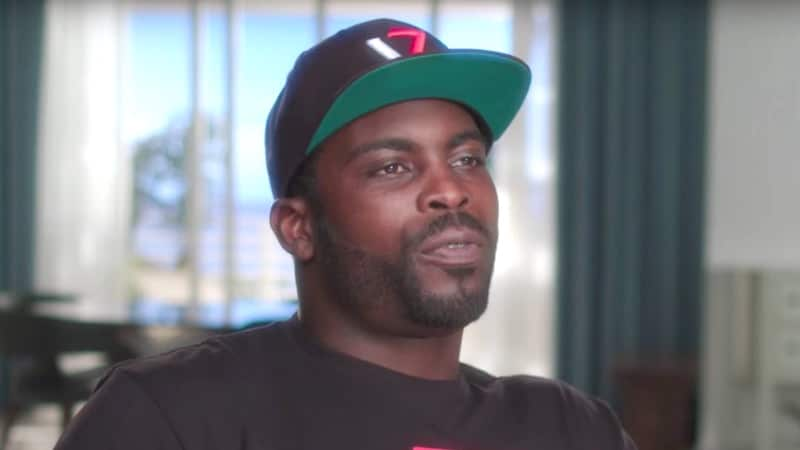 Michael Vick talking on Baller Wives