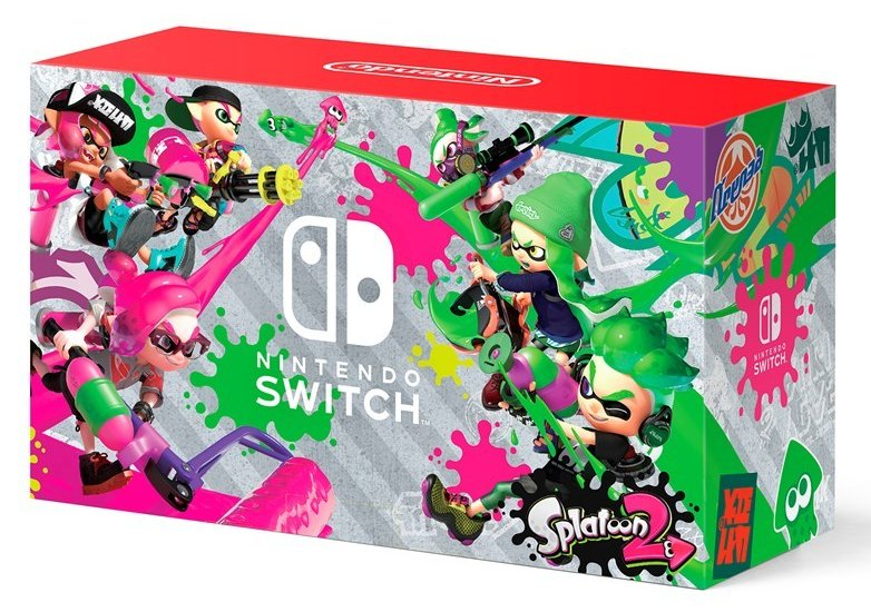 Nintendo Switch Splatoon 2 bundle coming exclusively to Walmart