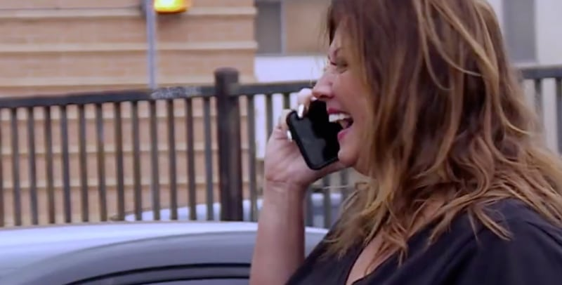 Abby Lee Miller laughing