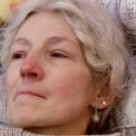 A close-up of Ami Brown in bed on Alaskan Bush People