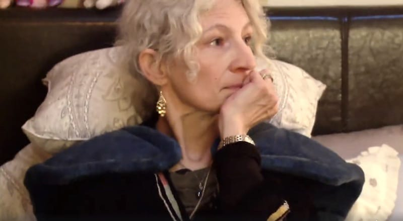Ami Brown in bed on Alaskan Bush People