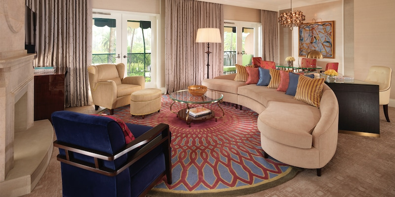 The Crescent Suite at the Beverly Hills Hotel